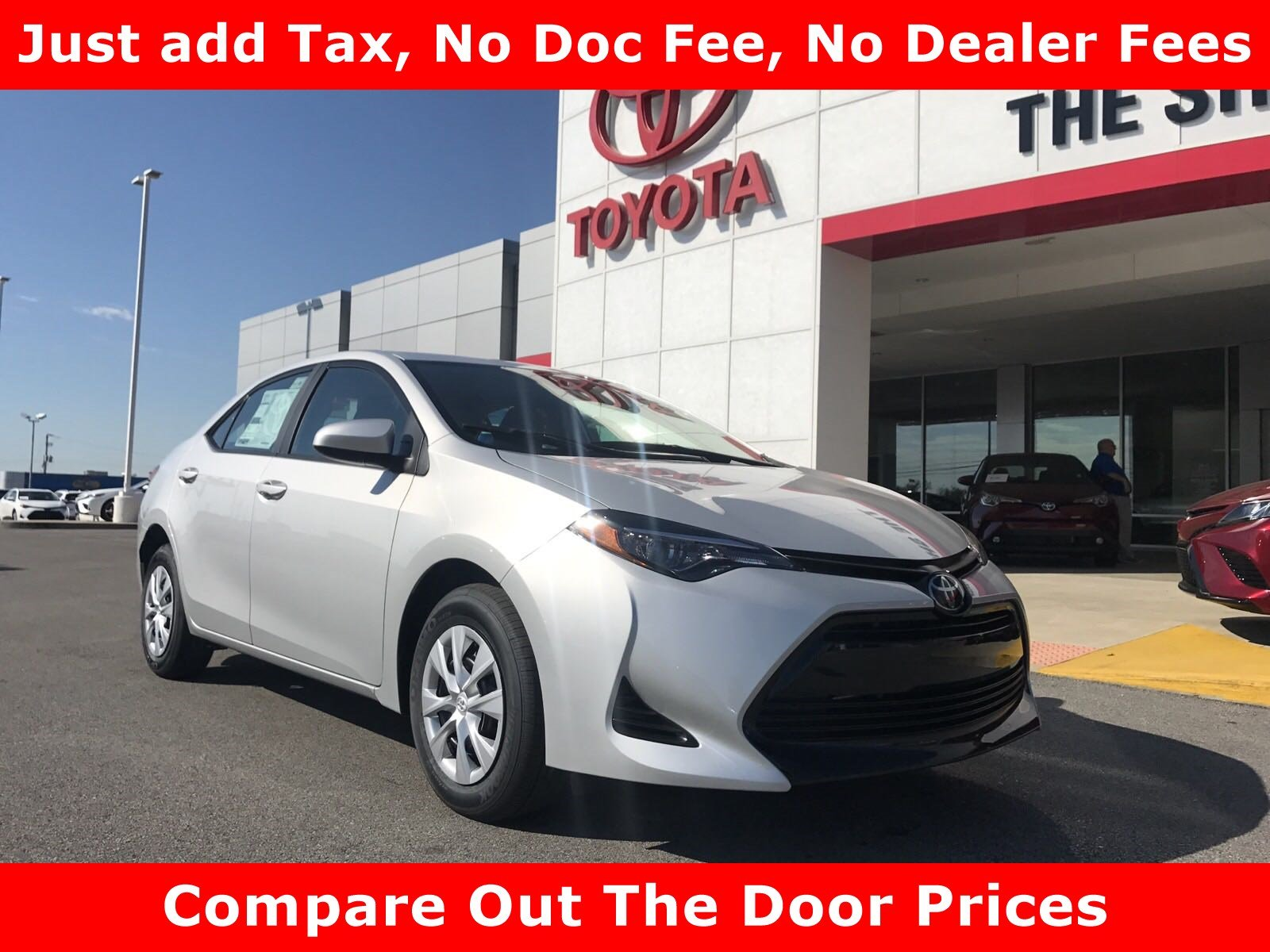 New 2019 Toyota Corolla L 4dr Car in Tuscumbia 0C