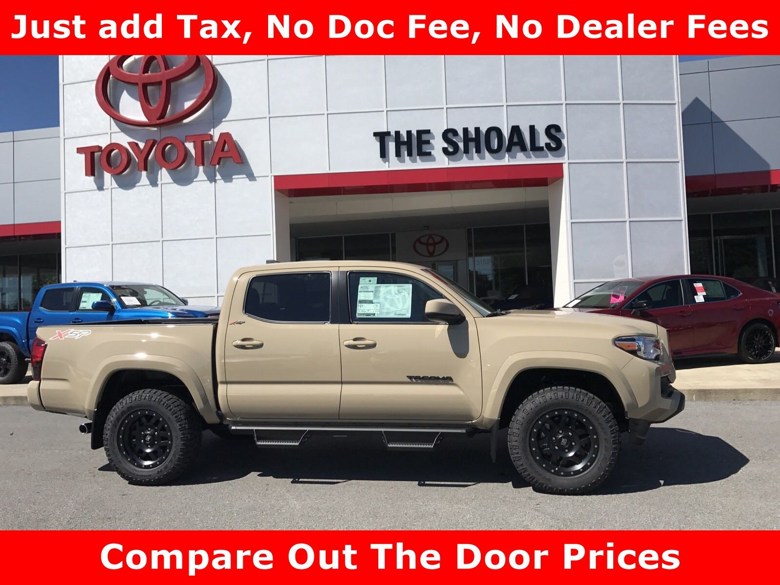 New 2018 Toyota Tacoma Sr5 Crew Cab Pickup In Tuscumbia 0t181126 Long Bed Fuel Hostage Wheels