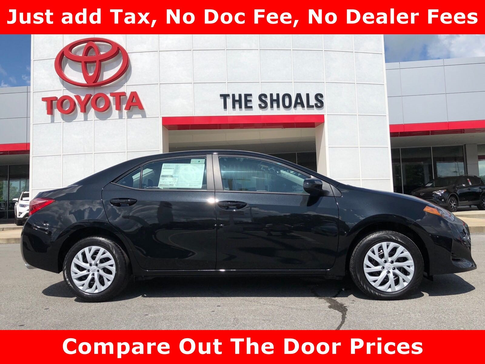New 2019 Toyota Corolla LE 4dr Car in Tuscumbia 0C