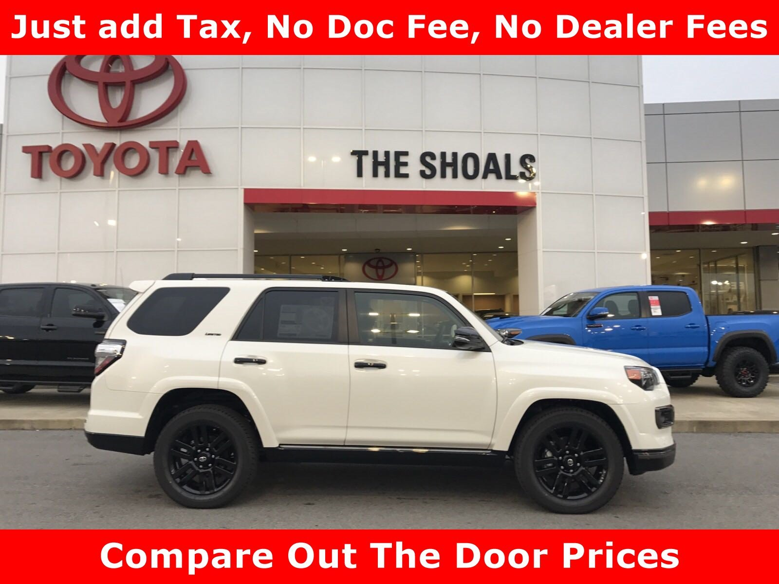 New 2019 Toyota 4Runner Limited Nightshade Sport Utility in